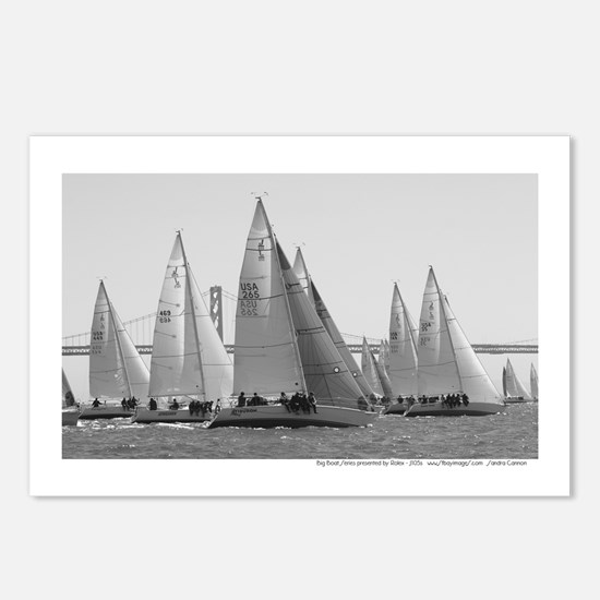 SF Bay Sailing Postcards (Package of 8)