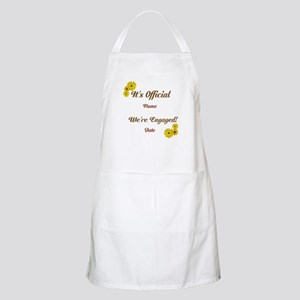 Summer, Fall Engagements Apron