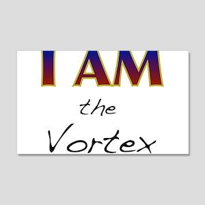 I AM the Vortex 20x12 Wall Decal