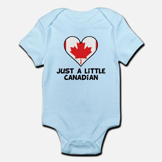 Just A Little Canadian Body Suit