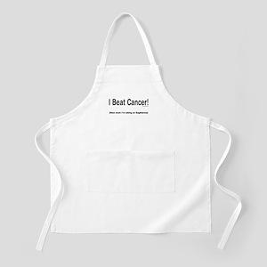 I Beat Cancer! BBQ Apron