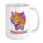 Large Meeeooow! Kitty Mug