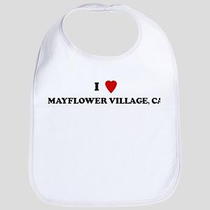 I Love MAYFLOWER VILLAGE Bib