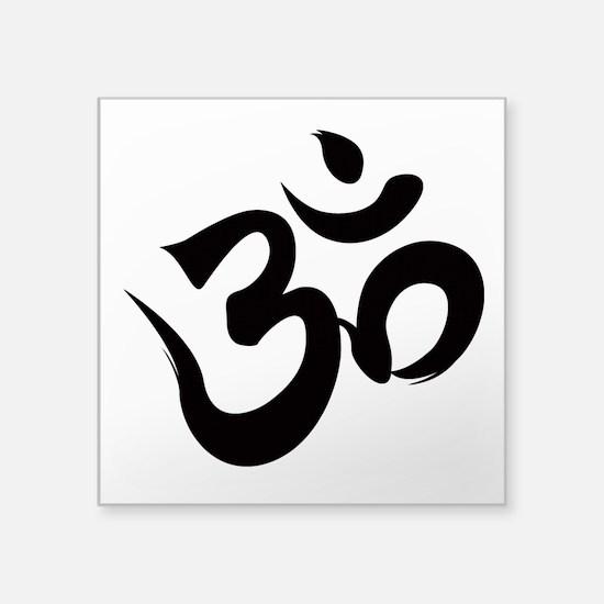 "Funny Hindu Square Sticker 3"" x 3"""