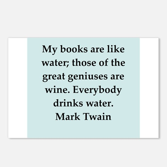 twain14.png Postcards (Package of 8)