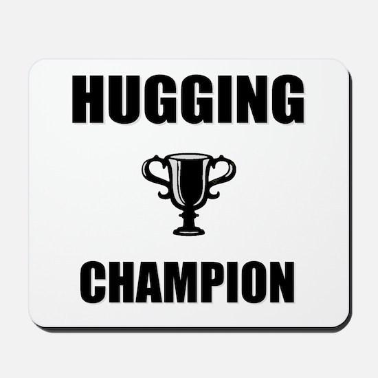 hugging champ Mousepad