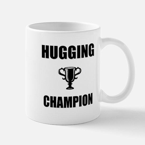 hugging champ Mug