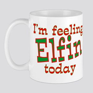 Feeling Elfin Christmas Mug