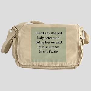 twain6 Messenger Bag