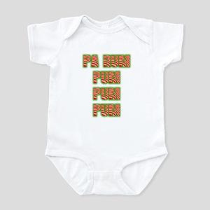 Pa Rum Pum Pum Pum Christmas Infant Bodysuit