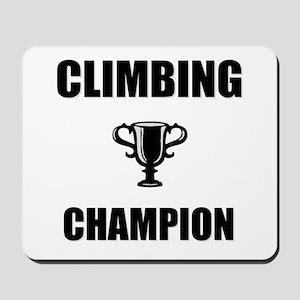 climbing champ Mousepad
