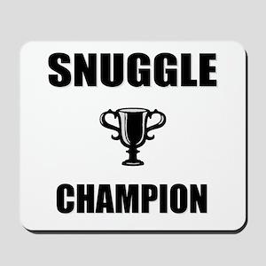 snuggle champ Mousepad