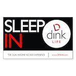 The DINK Commandments Sticker: Sleep In