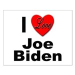 I Love Joe Biden Small Poster