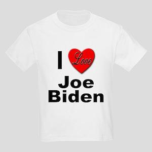 I Love Joe Biden (Front) Kids T-Shirt