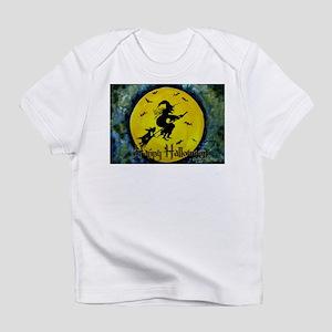 Scottie Witch Broom Infant T-Shirt