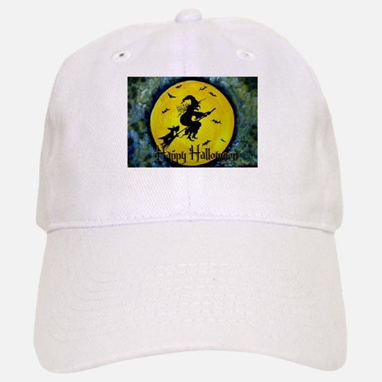 Scottie Witch Broom Baseball Baseball Cap