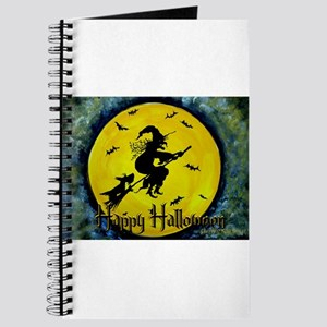Scottie Witch Broom Journal