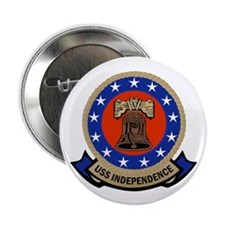 "USS Independence 2.25"" Button"