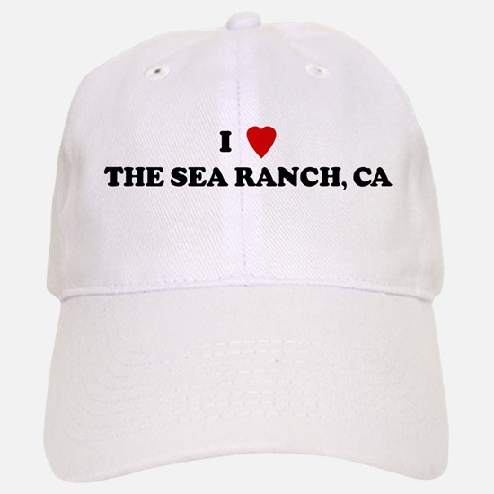 I Love THE SEA RANCH Baseball Baseball Cap