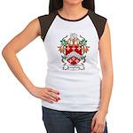 Longfield Coat of Arms Women's Cap Sleeve T-Shirt