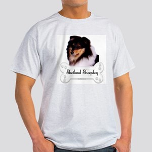 Sheltie 5 Ash Grey T-Shirt