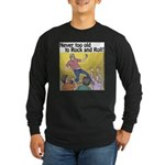 Air guitar Long Sleeve Dark T-Shirt
