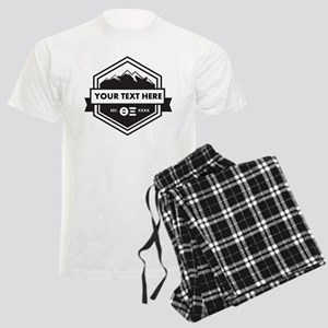Theta Xi Personalized Men's Light Pajamas