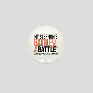 My Battle Too Uterine Cancer Mini Button