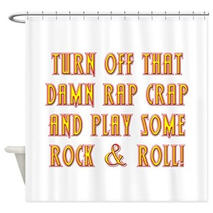 Classic Rock Shower Curtains