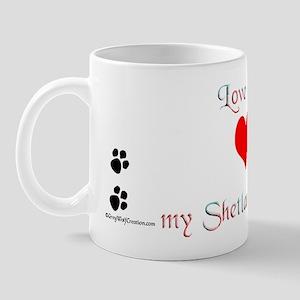Shetland Love Mug