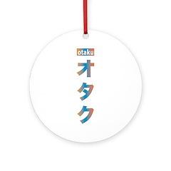 Otaku Katakana Ornament (Round)