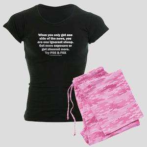 Ignorant Sheep Women's Dark Pajamas