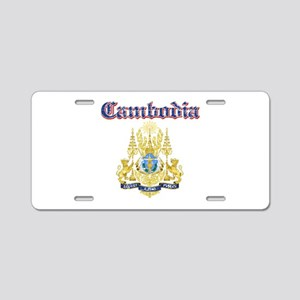 Cambodio Coat Of Arms Aluminum License Plate