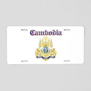 Cambodio Coat Of Arms Aluminum License Plate