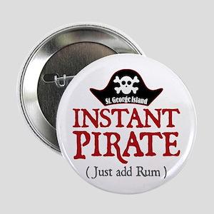 "St. George Island Pirate - 2.25"" Button"