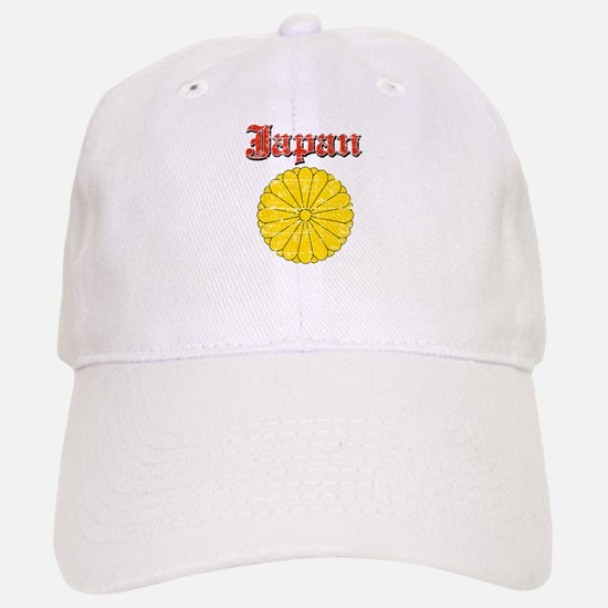 Japan Coat Of Arms Baseball Baseball Cap
