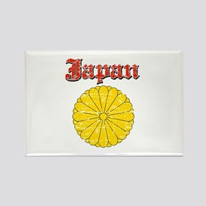 Japan Coat Of Arms Rectangle Magnet
