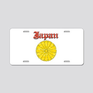 Japan Coat Of Arms Aluminum License Plate