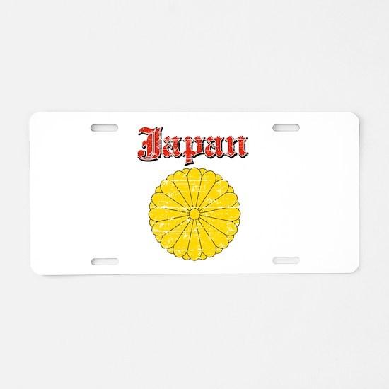 Japan Coat Of Arms Aluminum License Plate
