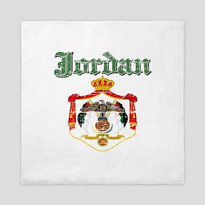 Jordan Coat Of Arms Queen Duvet