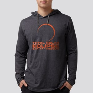 2017 Total Eclipse MISSOURI Mens Hooded Shirt