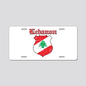 Lebanon Coat Of Arms Aluminum License Plate