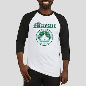 Macau Coat Of Arms Baseball Jersey