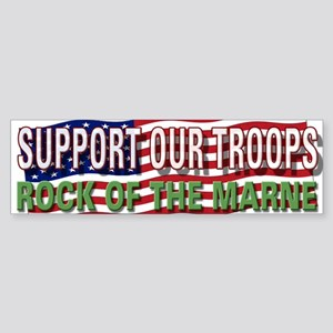 SupportTroops/Rock Bumper Sticker