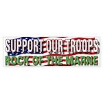 SupportTroops/Rock Bumper Sticker