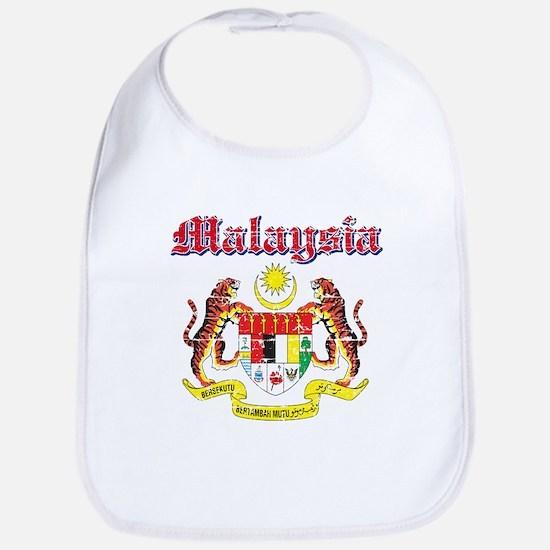 Malaysia Coat Of Arms Bib
