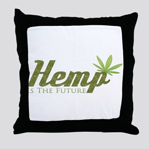 Hemp Is The Future Throw Pillow