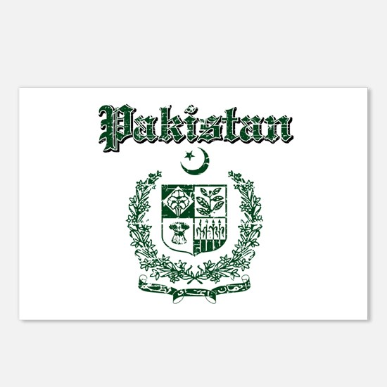 Pakistan Coat Of Arms Postcards (Package of 8)