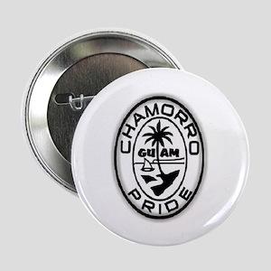 """chamorro pride logo 2.25"""" Button"""